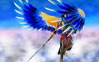 Fantasy - Angel Warrior Wallpapers and Backgrounds ID : 489943