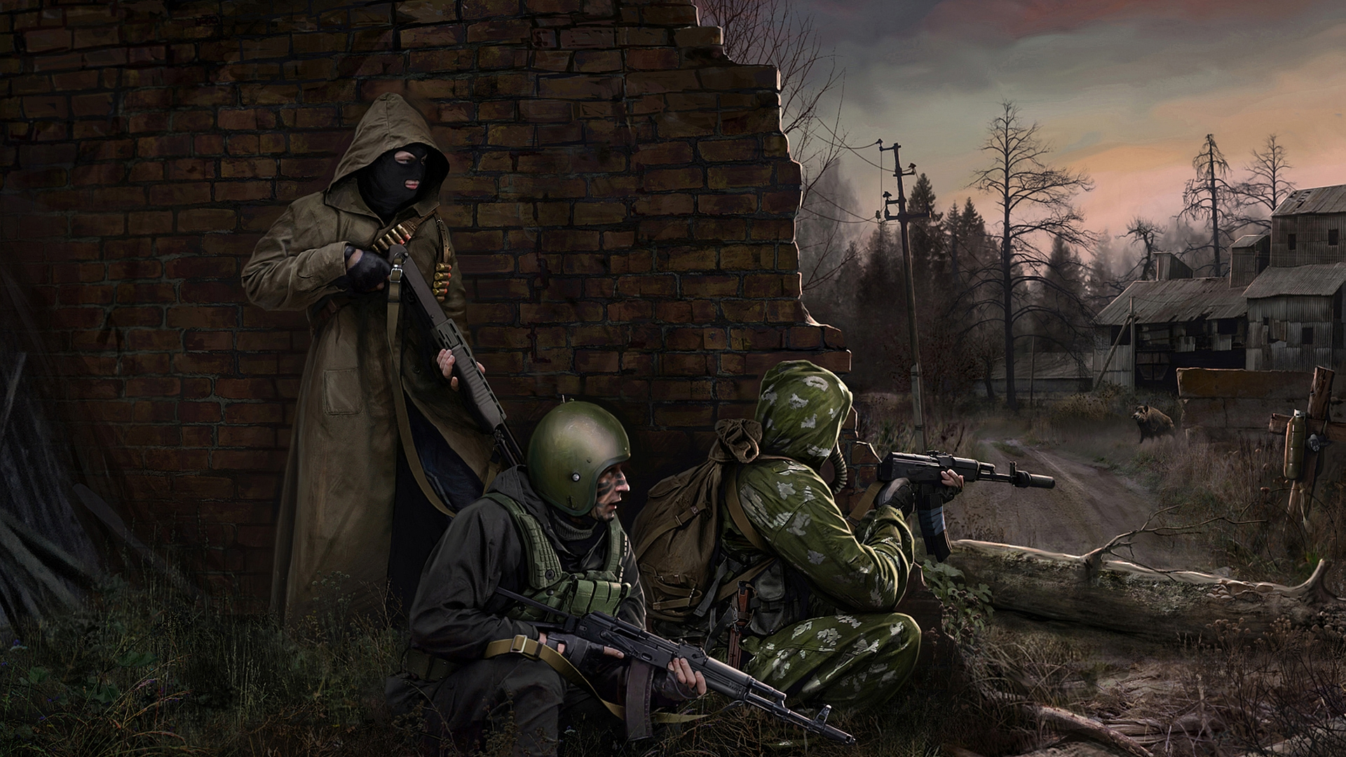 S.T.A.L.K.E.R. Full HD Wallpaper and Background Image ...