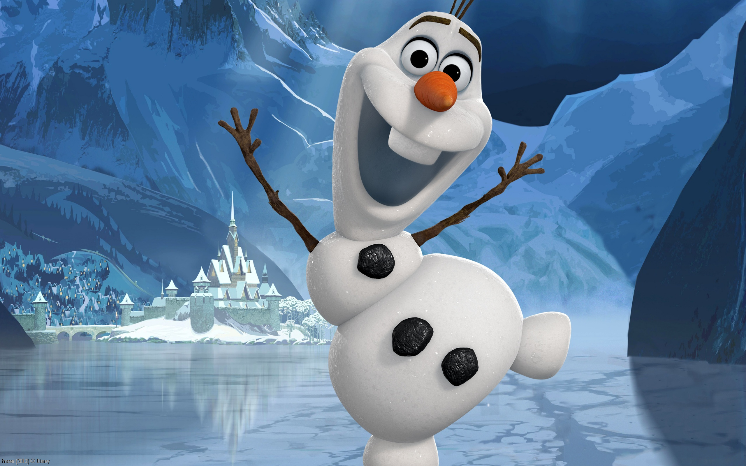 frozen full hd wallpaper and background image  2560x1600