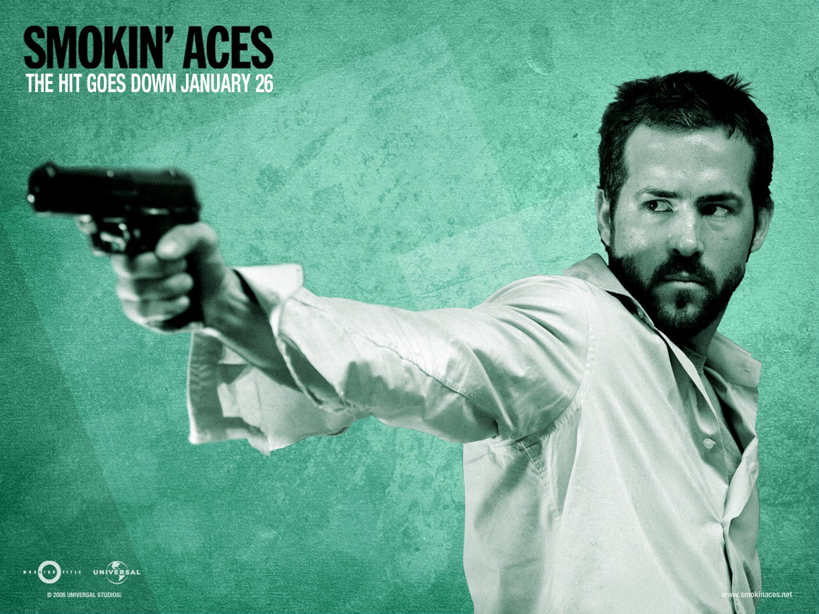 电影 - Smokin' Aces  Ryan Reynolds 壁纸