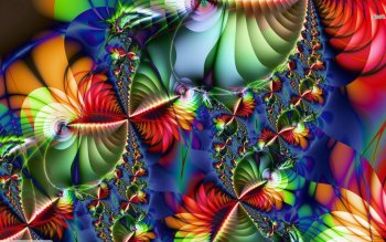 Abstract - Fractal Wallpapers and Backgrounds ID : 491119