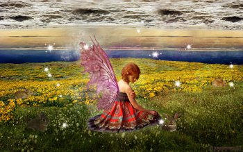 Fantasy - Fairy Wallpapers and Backgrounds ID : 491675