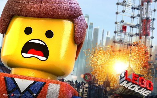 Movie The Lego Movie Lego Emmet Text Logo HD Wallpaper   Background Image