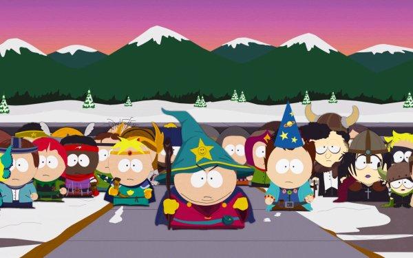 Video Game South Park: The Stick of Truth South Park Butters Stotch Eric Cartman Tweek Tweak Craig Tucker Token Black HD Wallpaper | Background Image