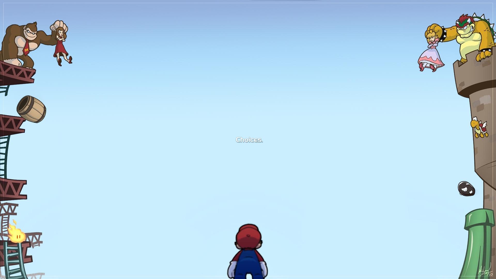 Super Mario Bros. Full HD Papel De Parede And Background