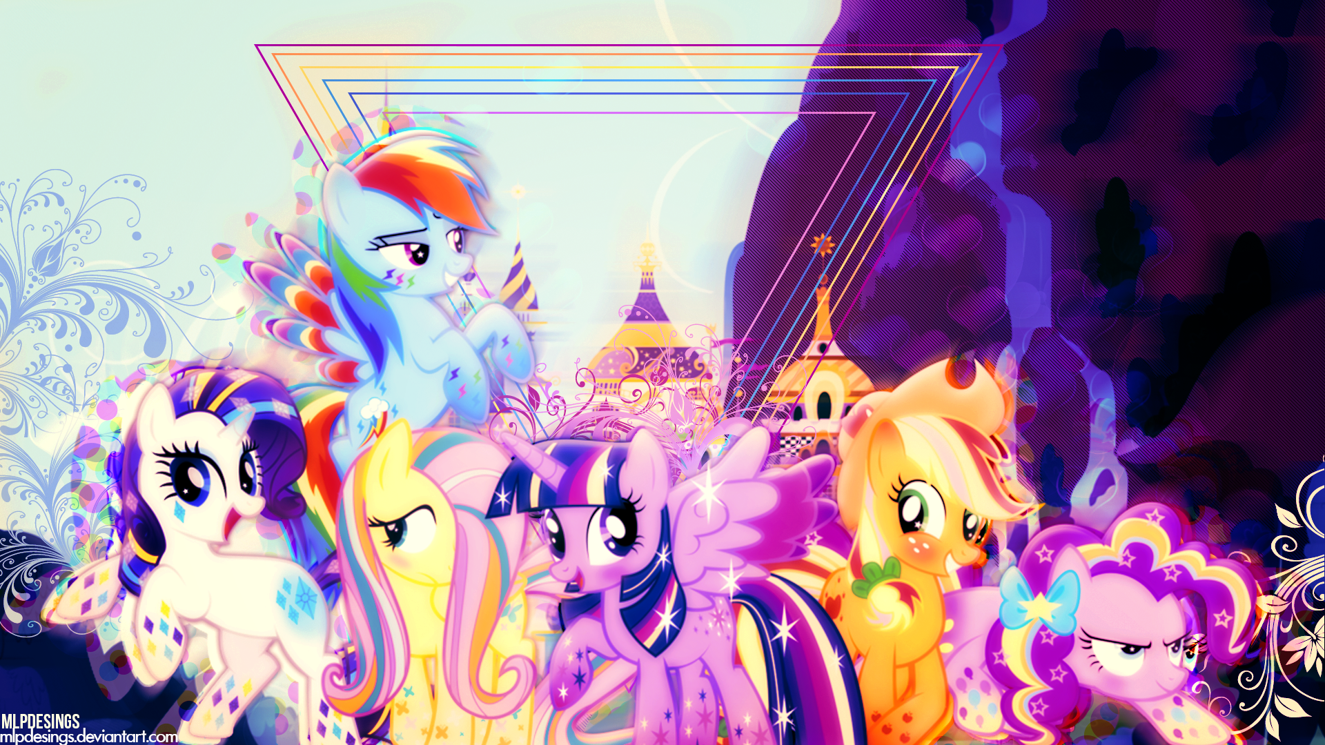 128 Twilight Sparkle Hd Wallpapers Background Images Wallpaper