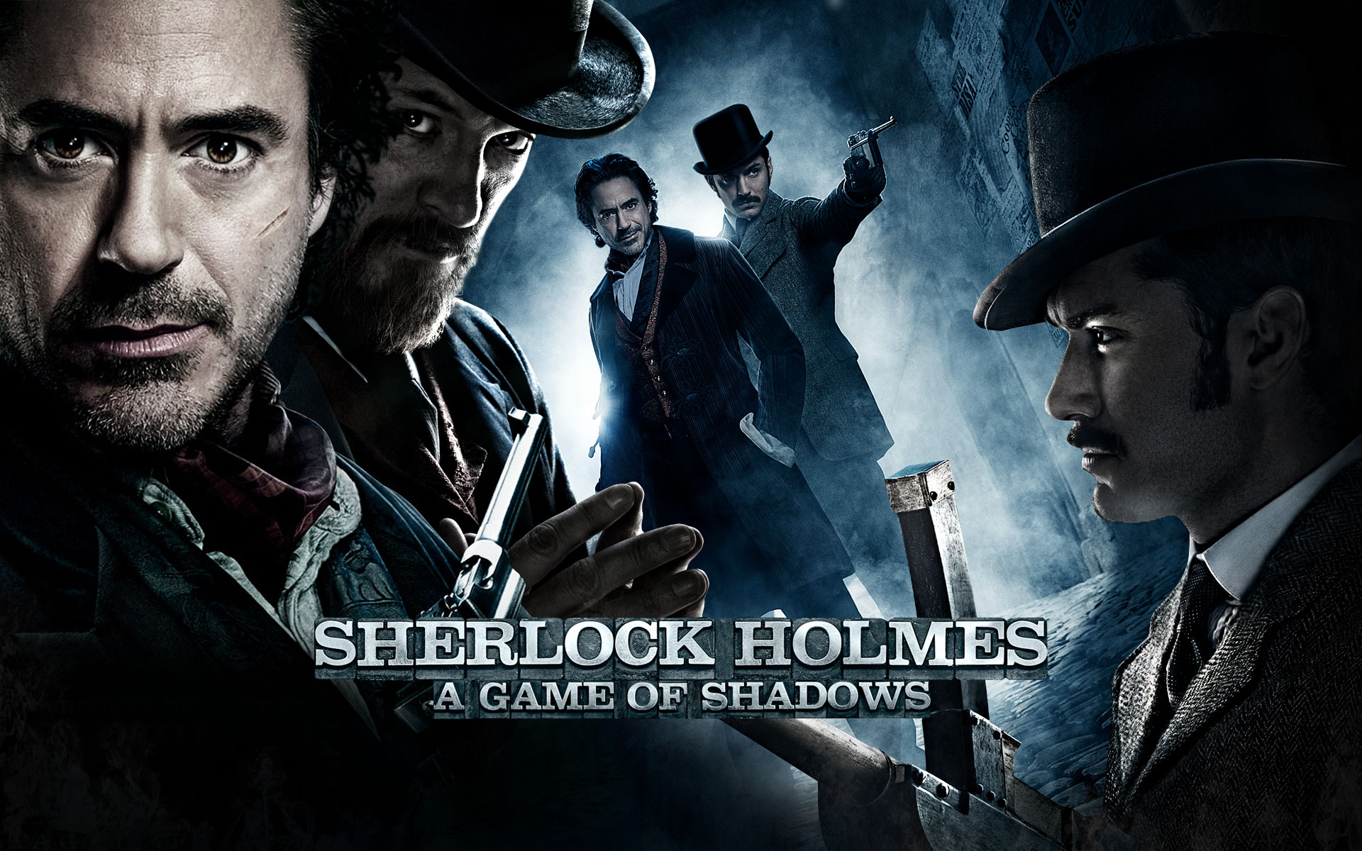 Sherlock Holmes A Game Of Shadows Hd Wallpaper Background Image