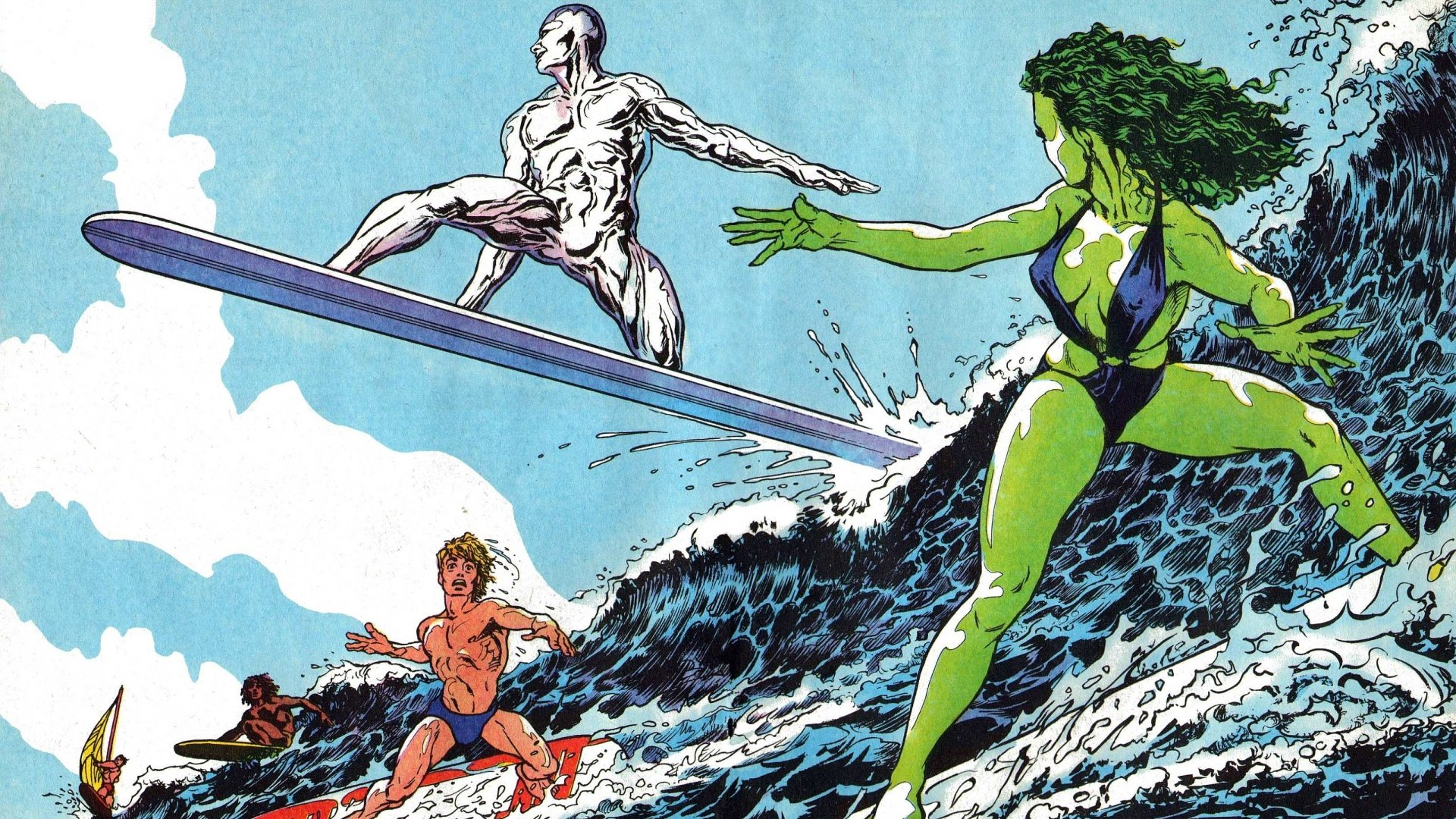 Comics - Silver Surfer  Wallpaper