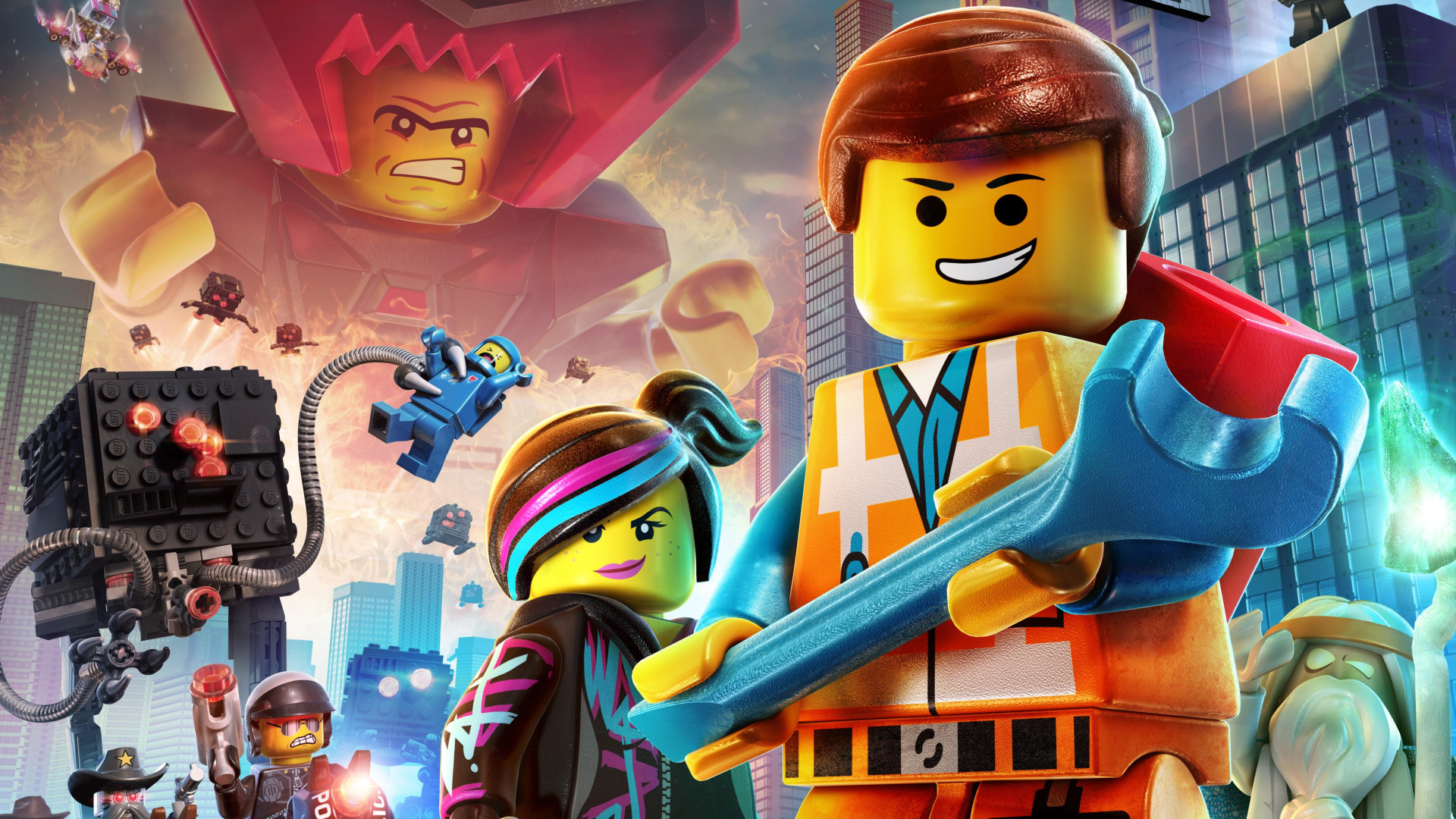 lego movie city background - photo #14