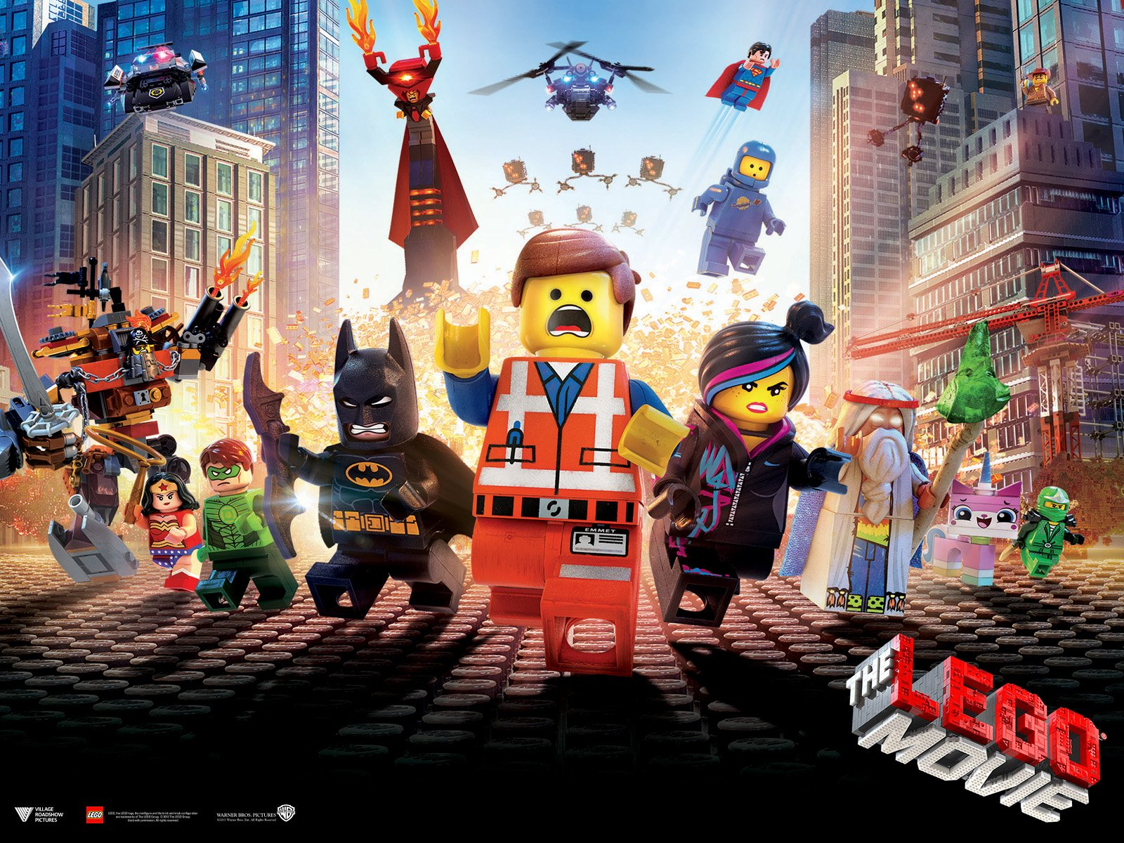 The Lego Movie Wallpaper And Background Image 1600x1200 Id