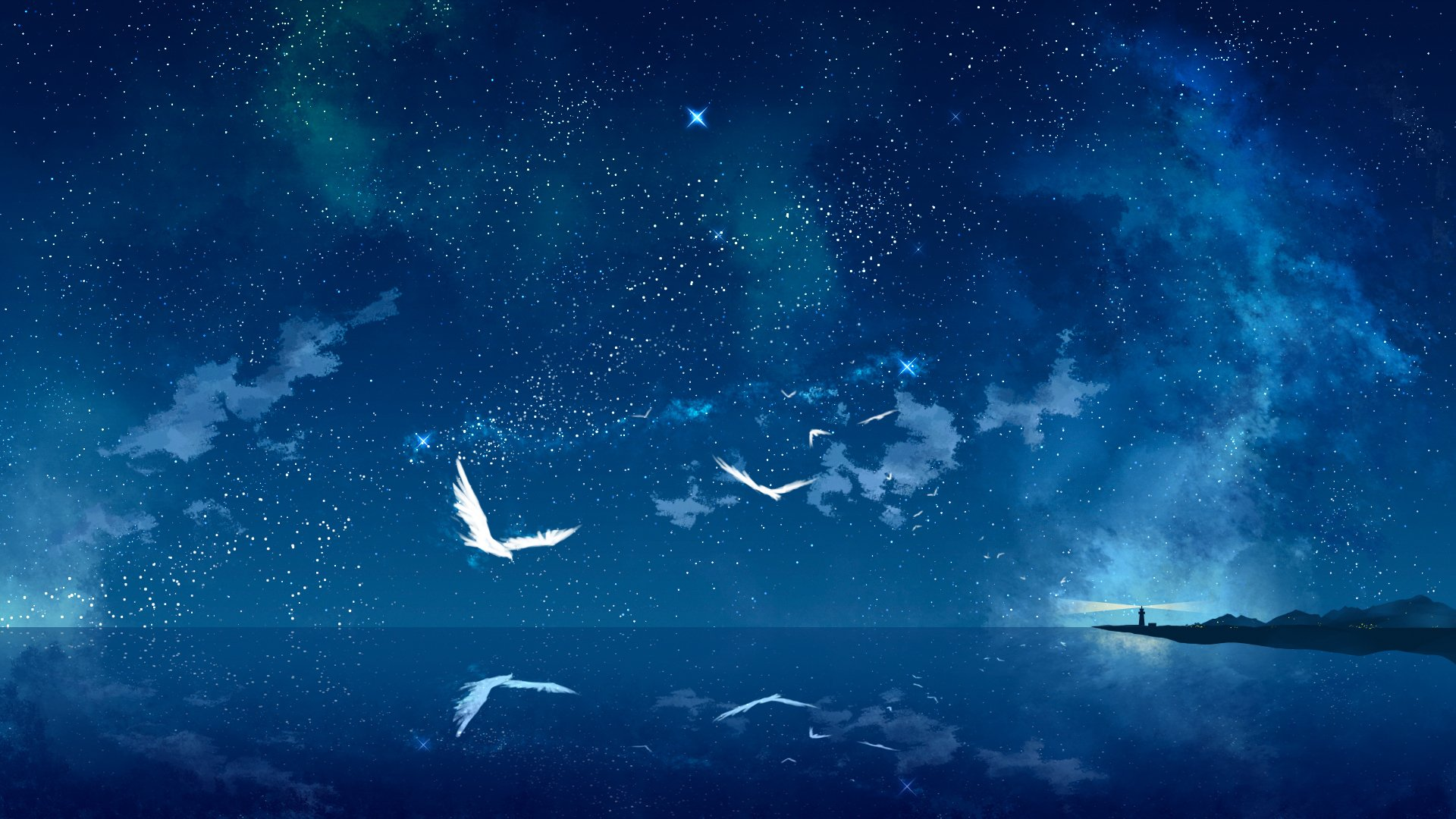 391 Starry Sky HD Wallpapers