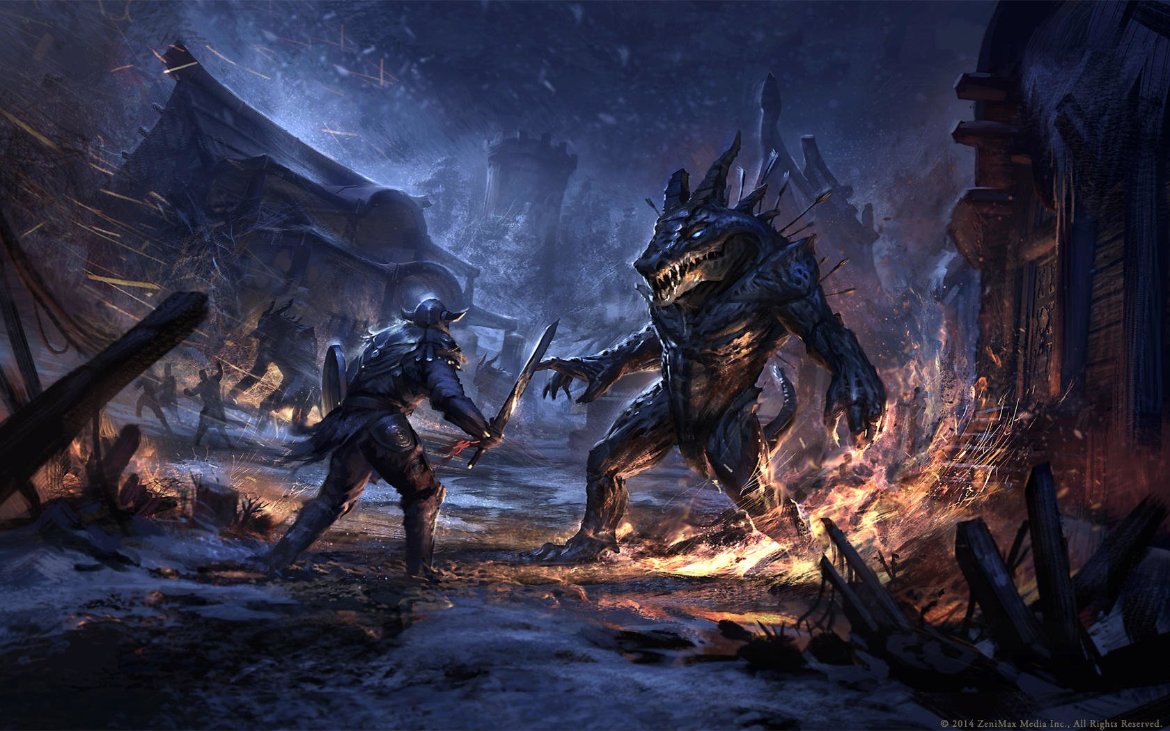 175 The Elder Scrolls Online Hd Wallpapers Background Images