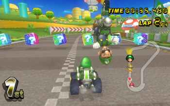 Videojuego - Mario Kart Wii Wallpapers and Backgrounds ID : 498076