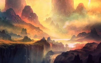 Fantasy - Landscape Wallpapers and Backgrounds ID : 498694