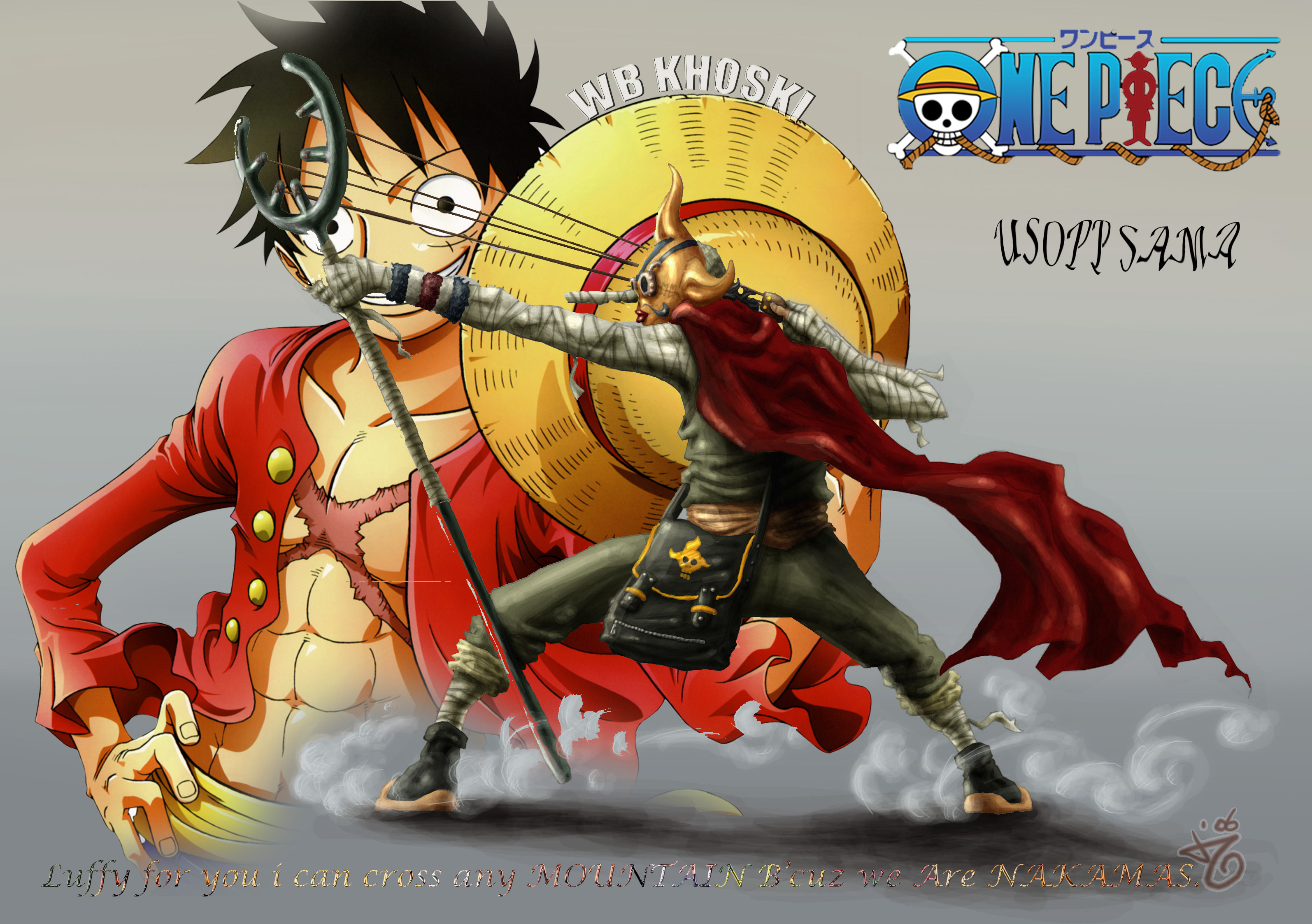 Luffy And Ussop Full HD Papel De Parede And Planos De