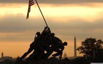 Military - Iwo Jima Memorial Wallpapers and Backgrounds ID : 499904
