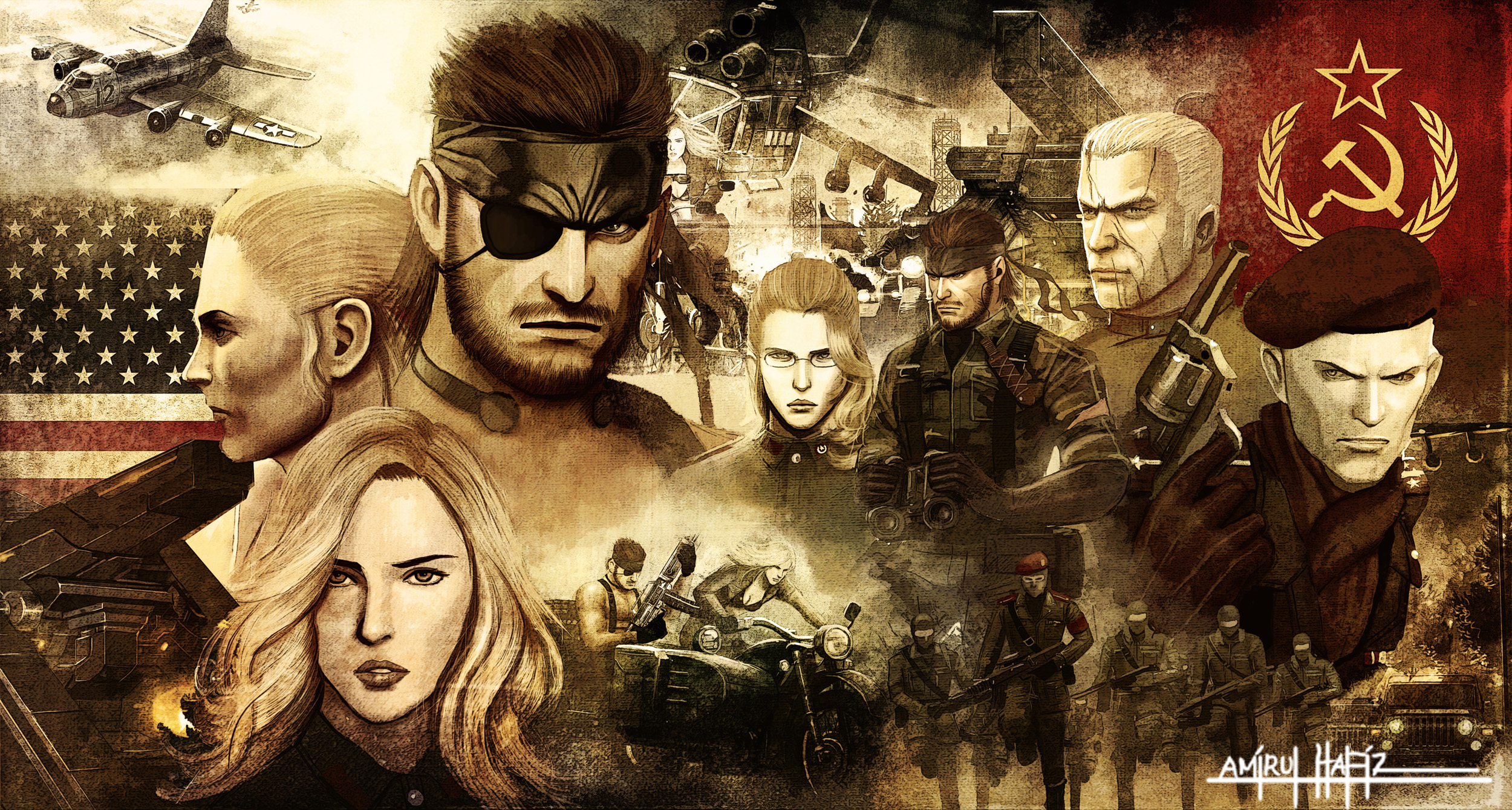 30 Solid Snake Hd Wallpapers Background Images Wallpaper