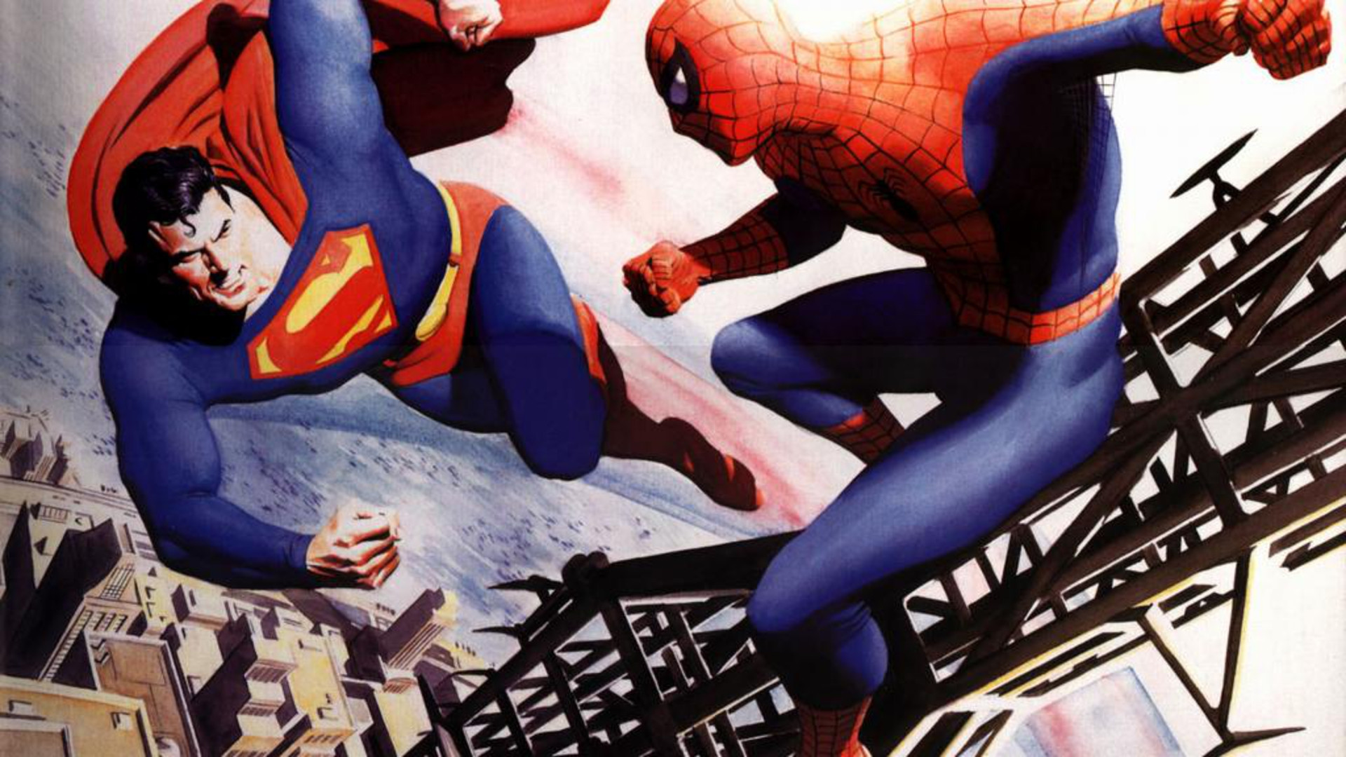 1 Superman VS Spiderman HD Wallpapers | Backgrounds ...