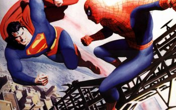 Strips - Superman VS Spiderman Wallpapers and Backgrounds ID : 500835
