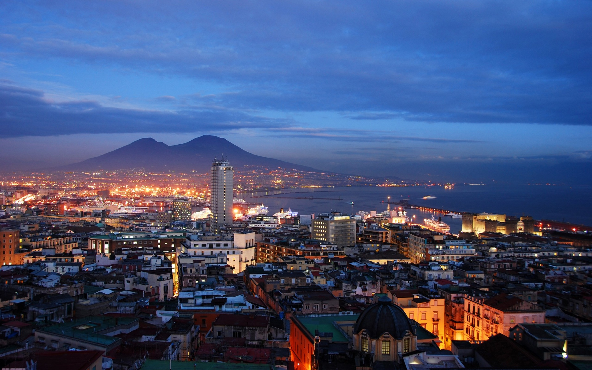 Naples Full HD Wallpaper And Background Image