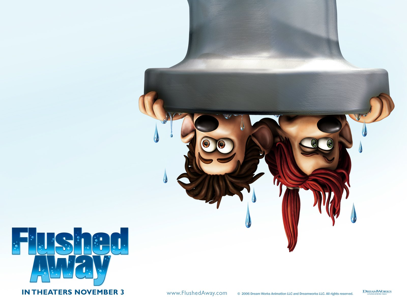 flushed away wallpaper and background image 1600x1200