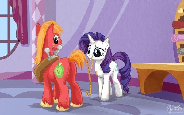 TV Show My Little Pony: Friendship is Magic My Little Pony Rarity Big Macintosh HD Wallpaper | Background Image