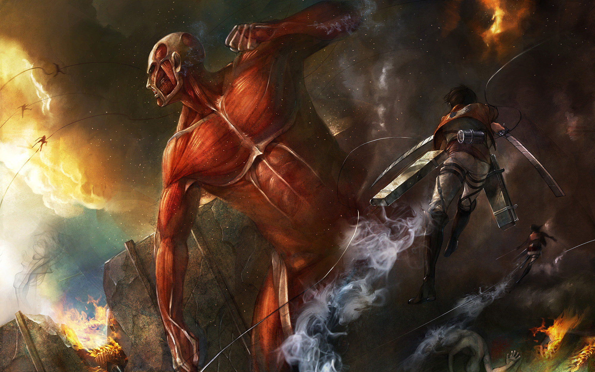 Attack On Titan Full HD Wallpaper and Background Image ...