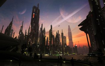 Sci Fi - City Wallpapers and Backgrounds ID : 506869