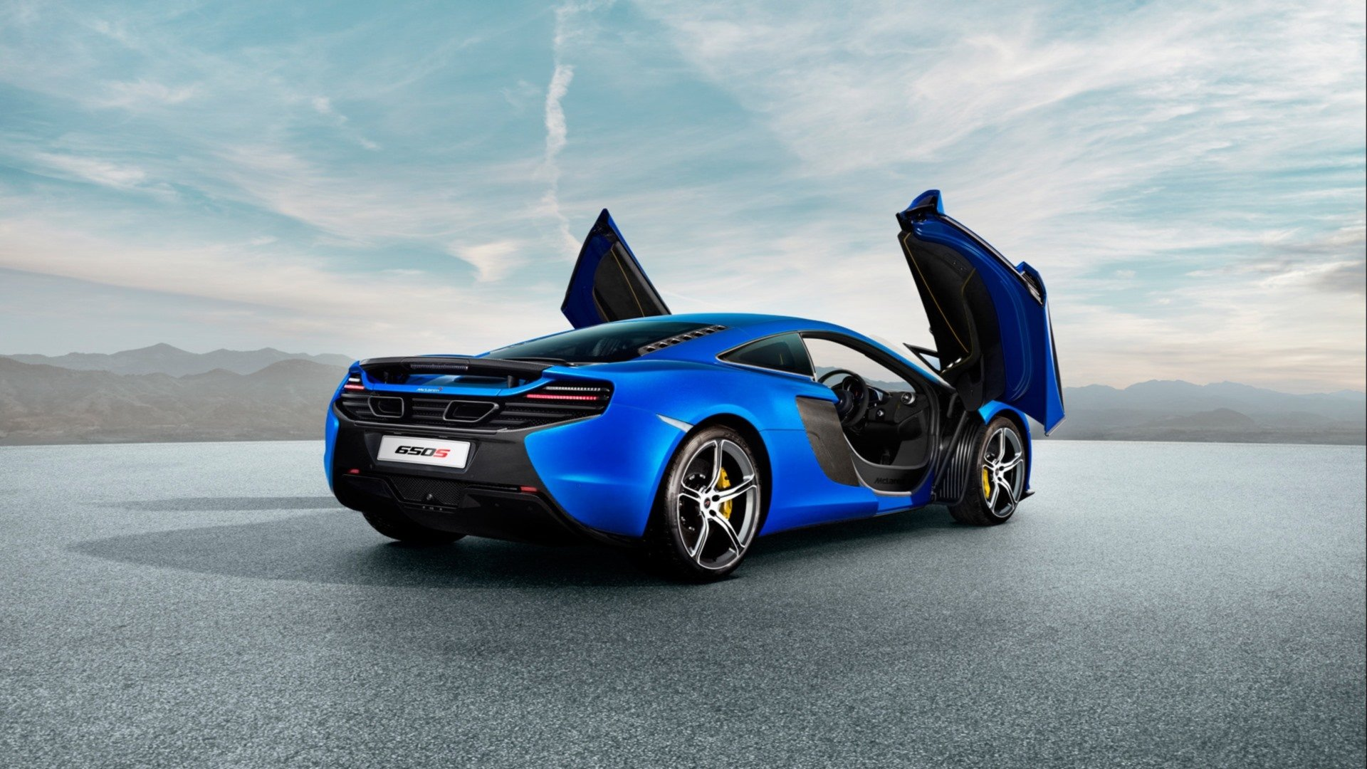 Vehicles - McLaren 650S  Blue Car Supercar Car Vehicle McLaren Wallpaper