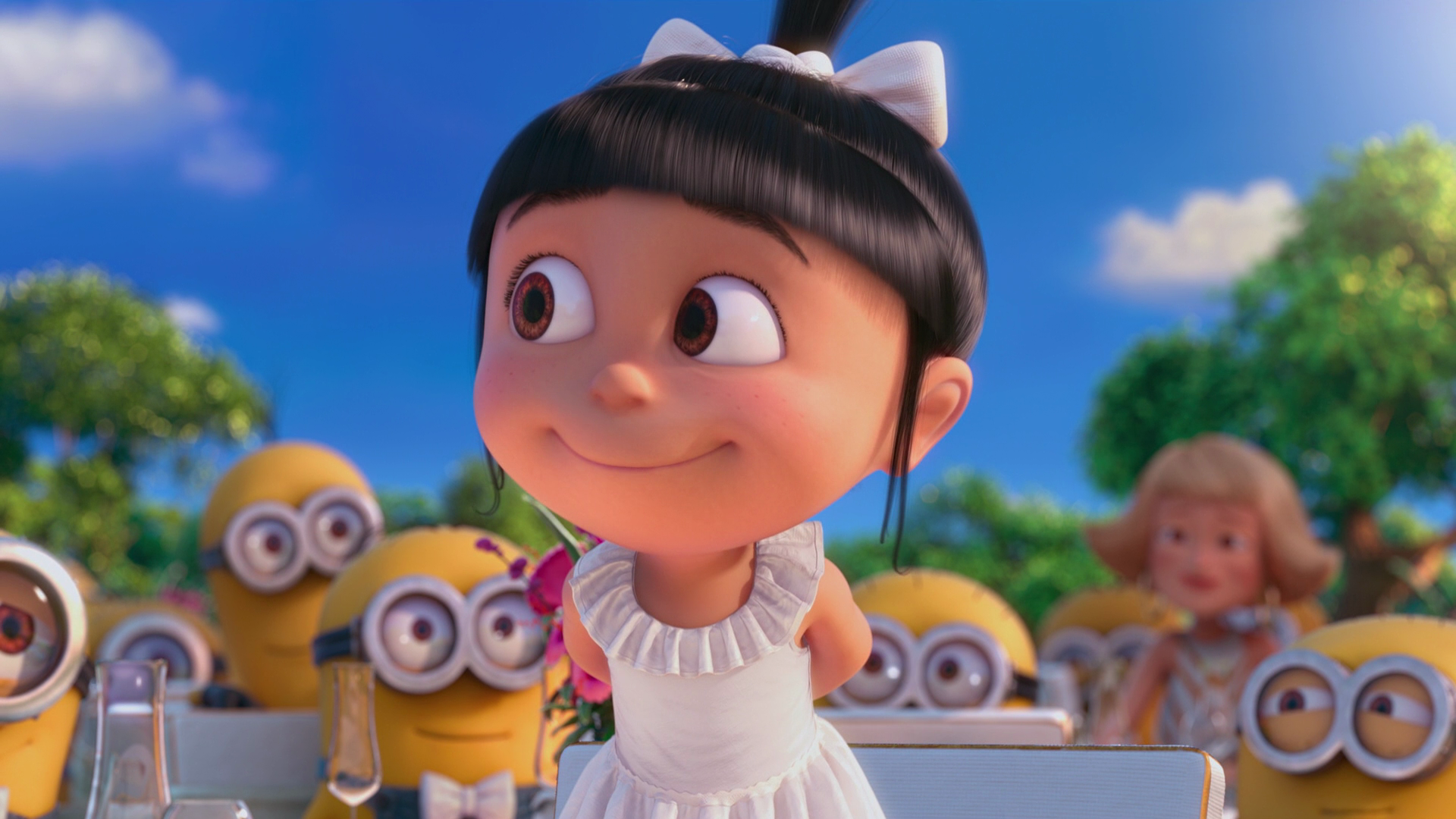 Movie - Despicable Me 2  Agnes (Despicable Me) Wallpaper