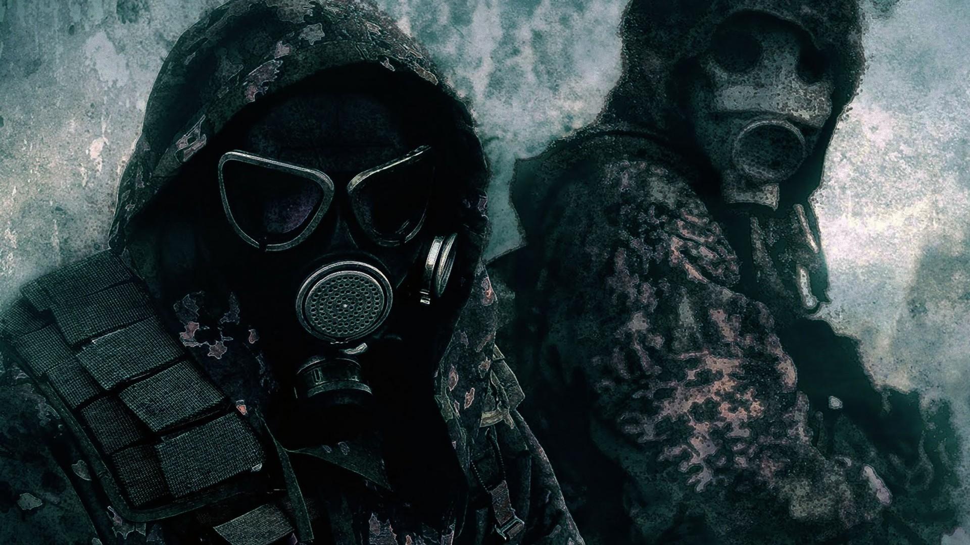 Gas Mask HD Wallpaper | Background Image | 1920x1080 | ID ...