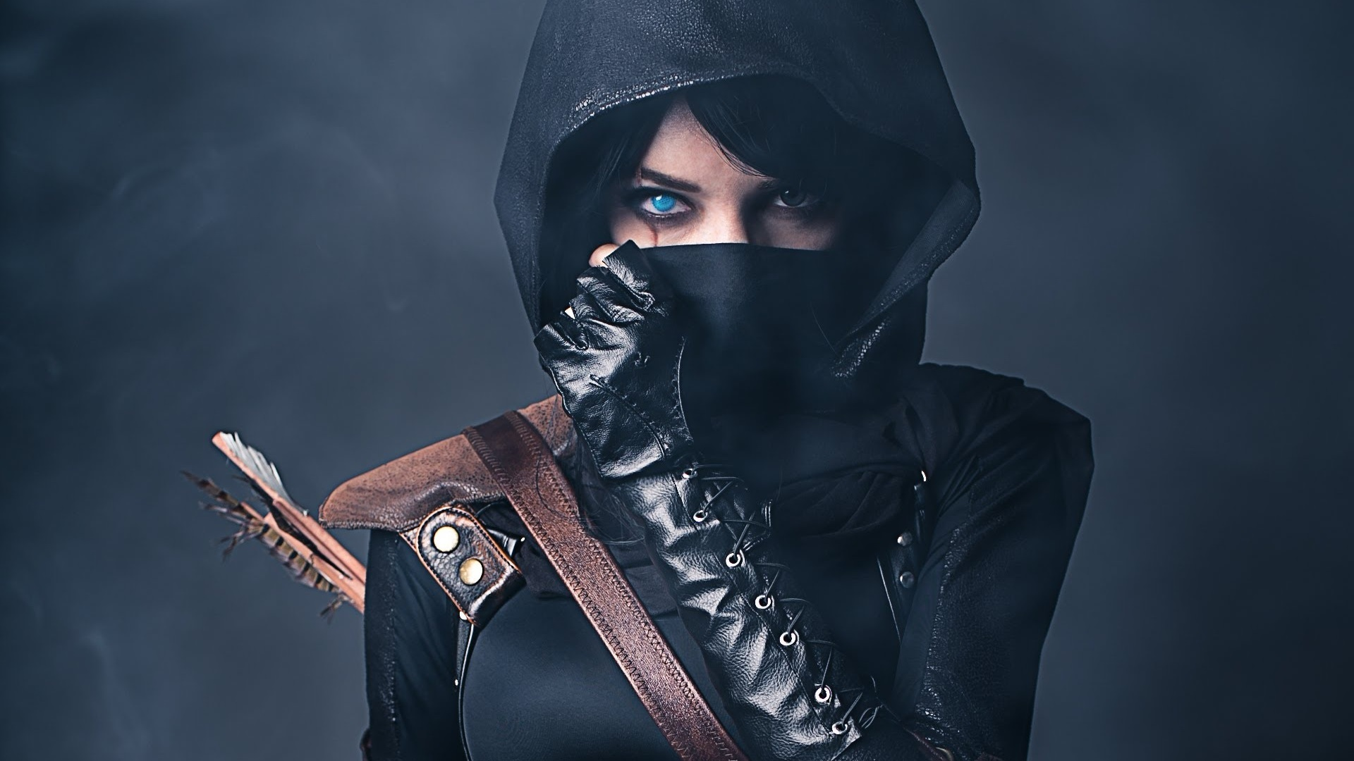 leather girl wallpaper - photo #15