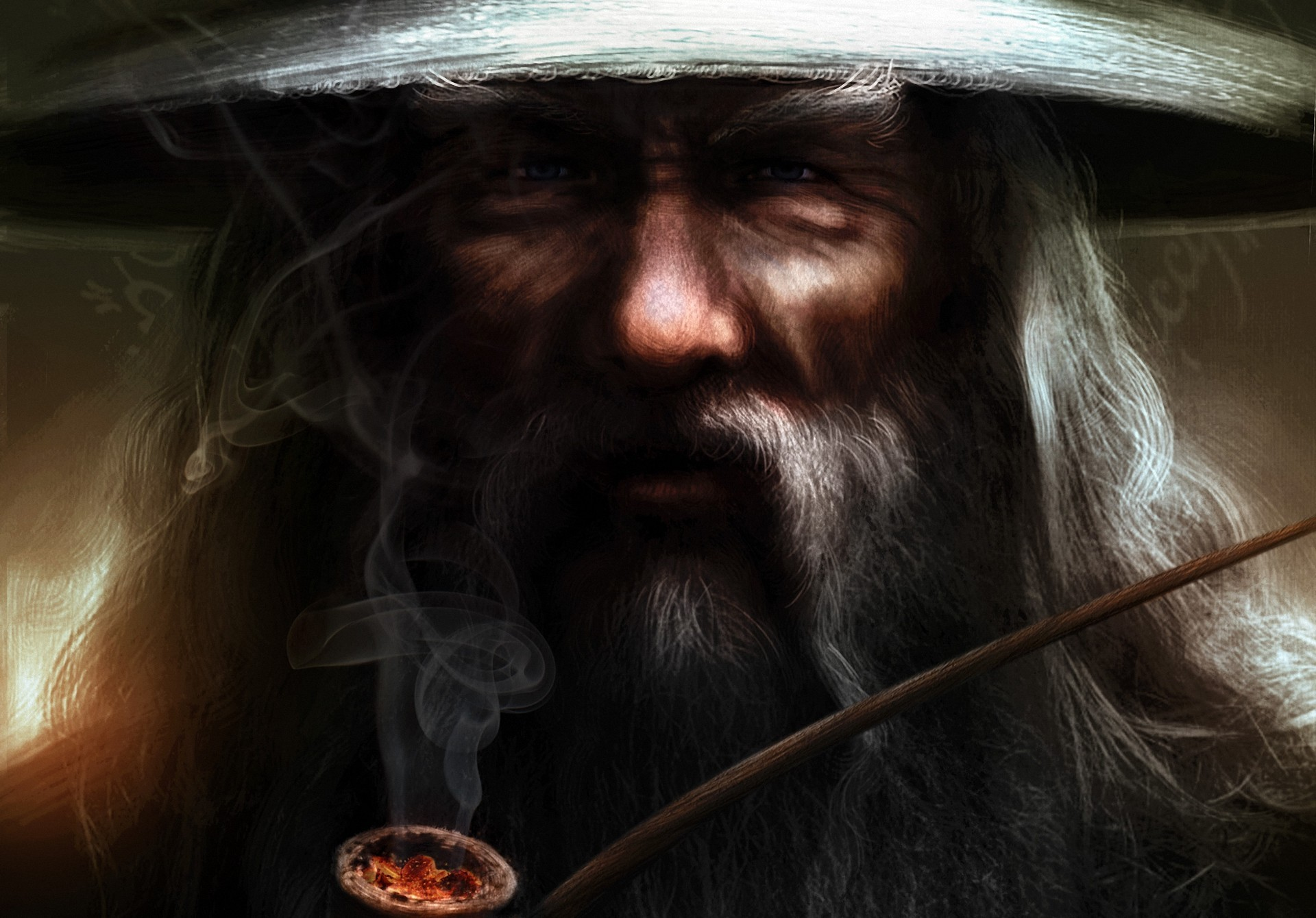 Fantasy - Lord Of The Rings  Gandalf Wallpaper