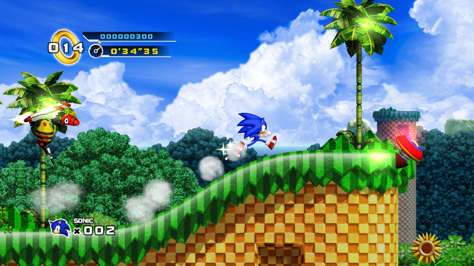 Sonic The Hedgehog 4 Episode I Hd Wallpaper Background Image 1920x1080 Id 509988 Wallpaper Abyss