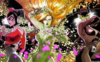 Comics - Gotham City Sirens Wallpapers and Backgrounds ID : 509000