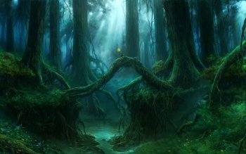 Fantasy - Forest Wallpapers and Backgrounds ID : 509411