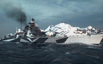 Military - German Battleship Tirpitz Wallpapers and Backgrounds ID : 510353