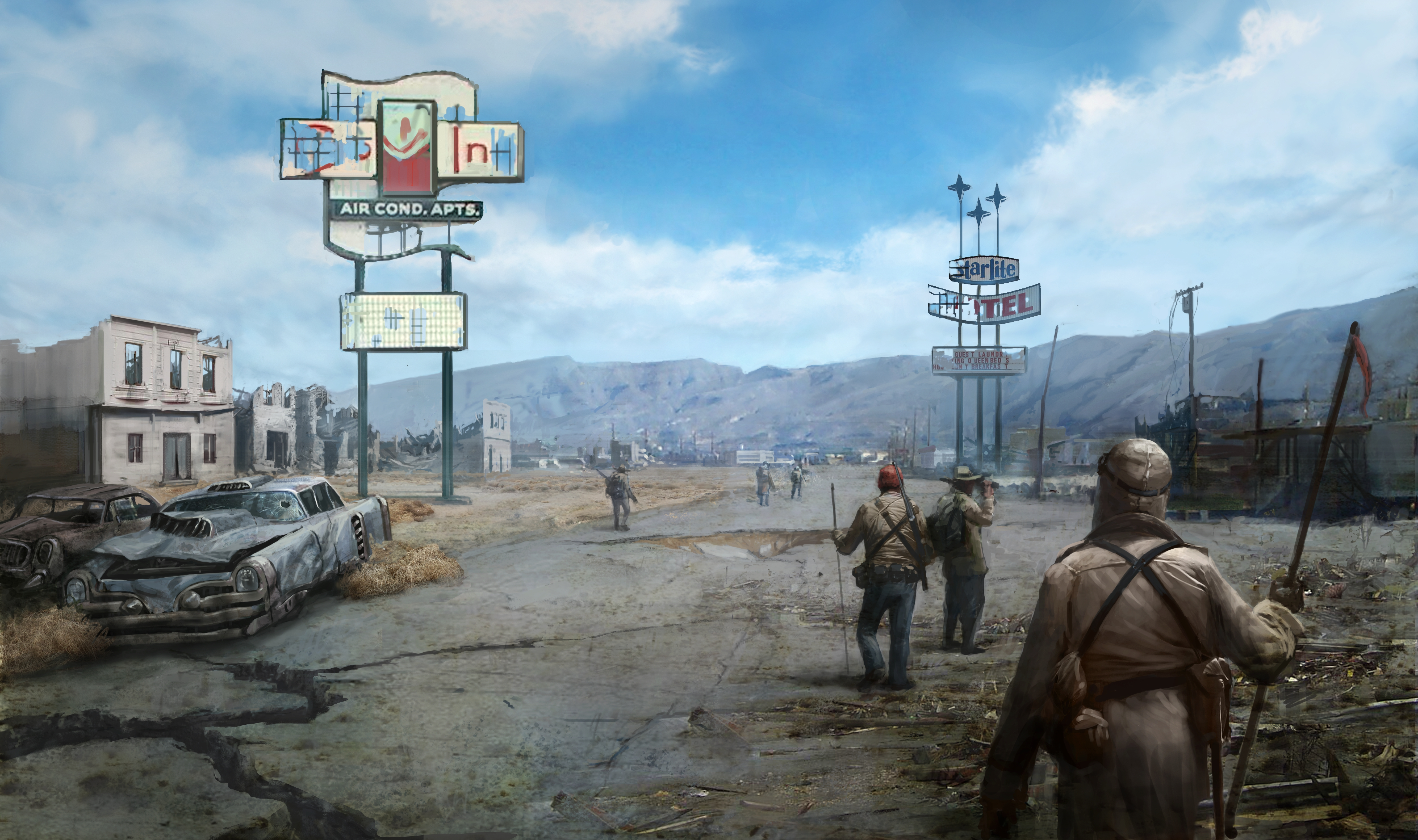 Fallout New Vegas 5k Retina Ultra HD Wallpaper