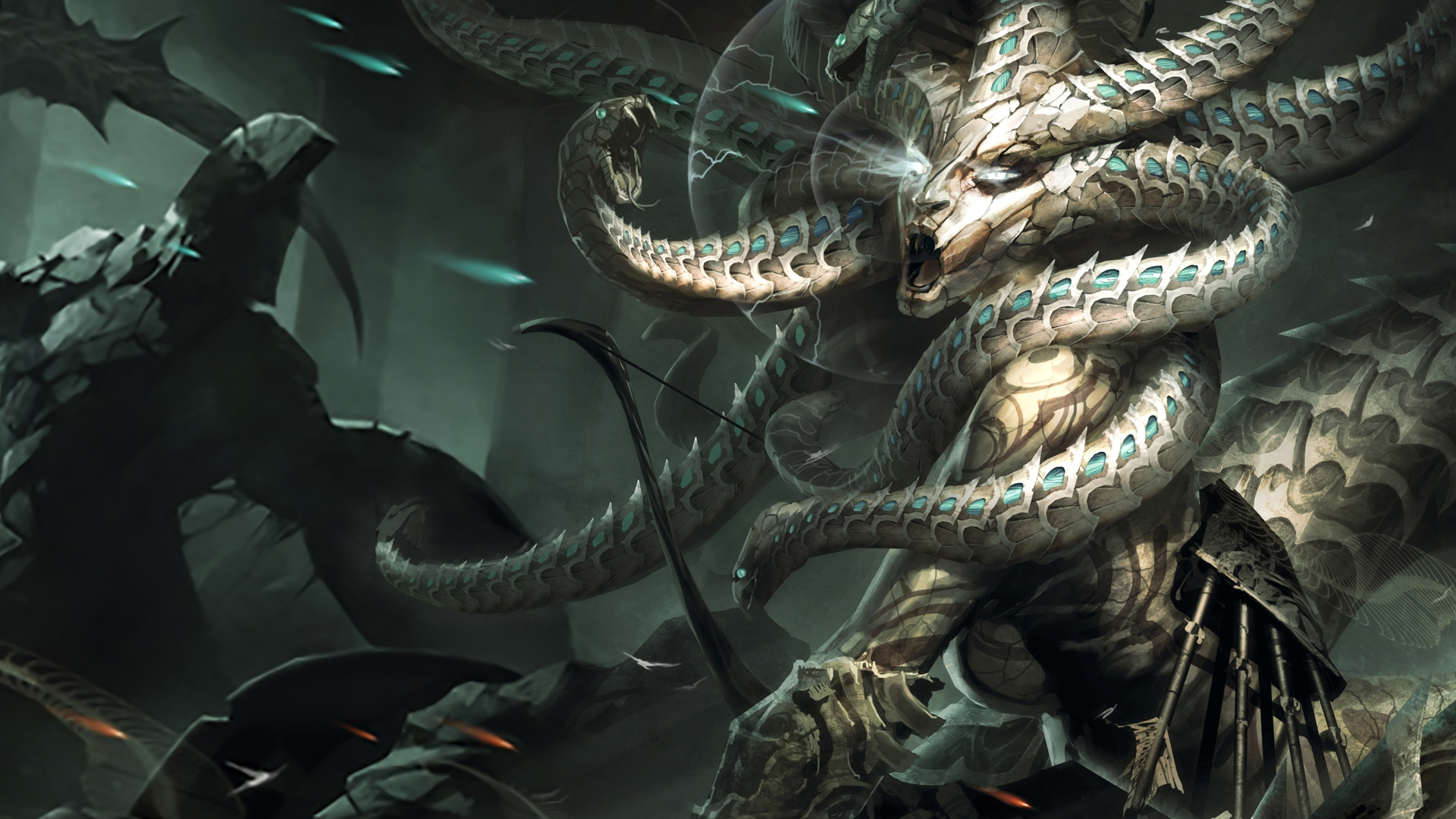 Medusa Full Hd Wallpaper And Background Image  1920X1080  Id512391-5126