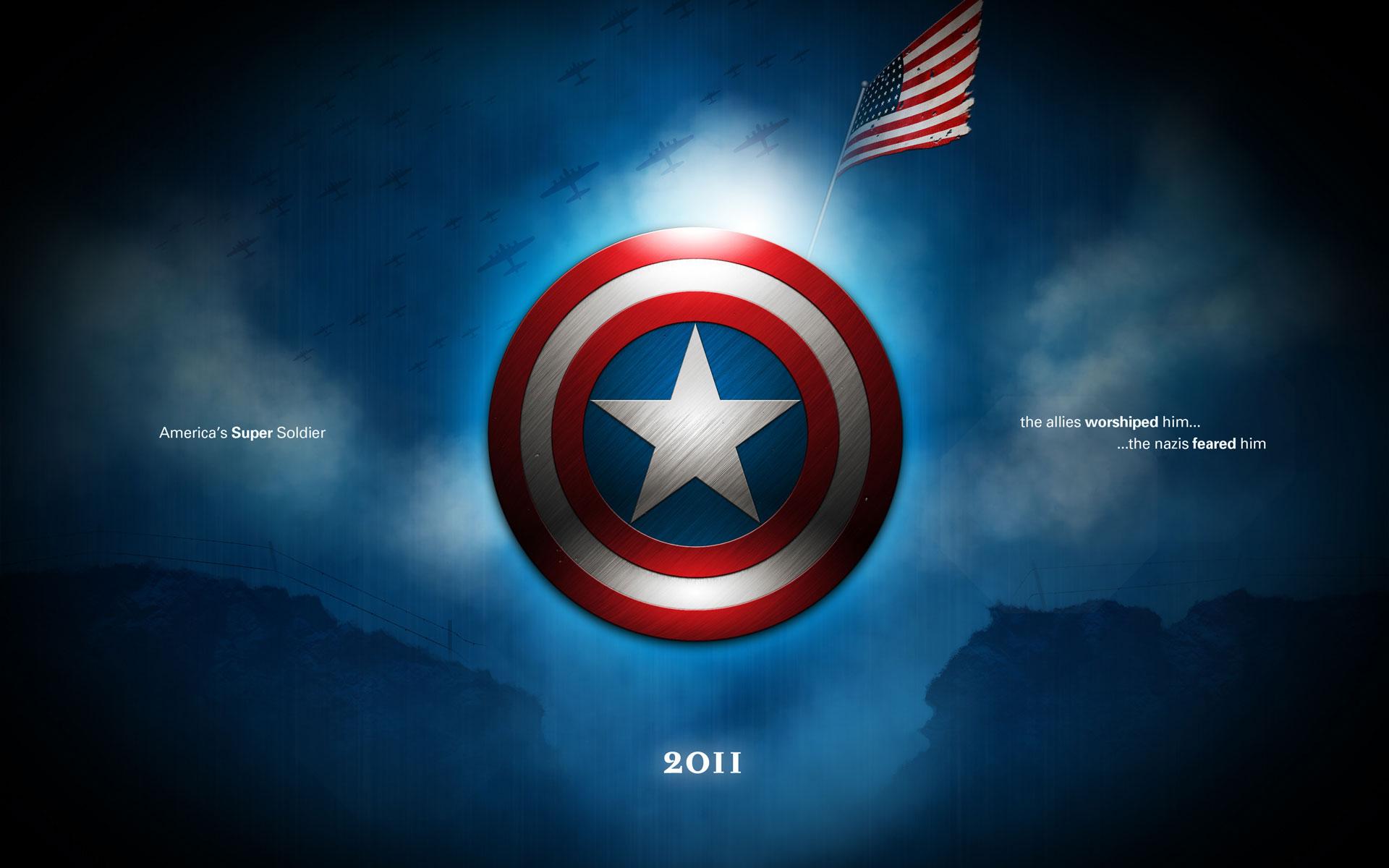 Papel De Parede Do Capitao America: Capitão América: O Primeiro Vingador Papel De Parede HD