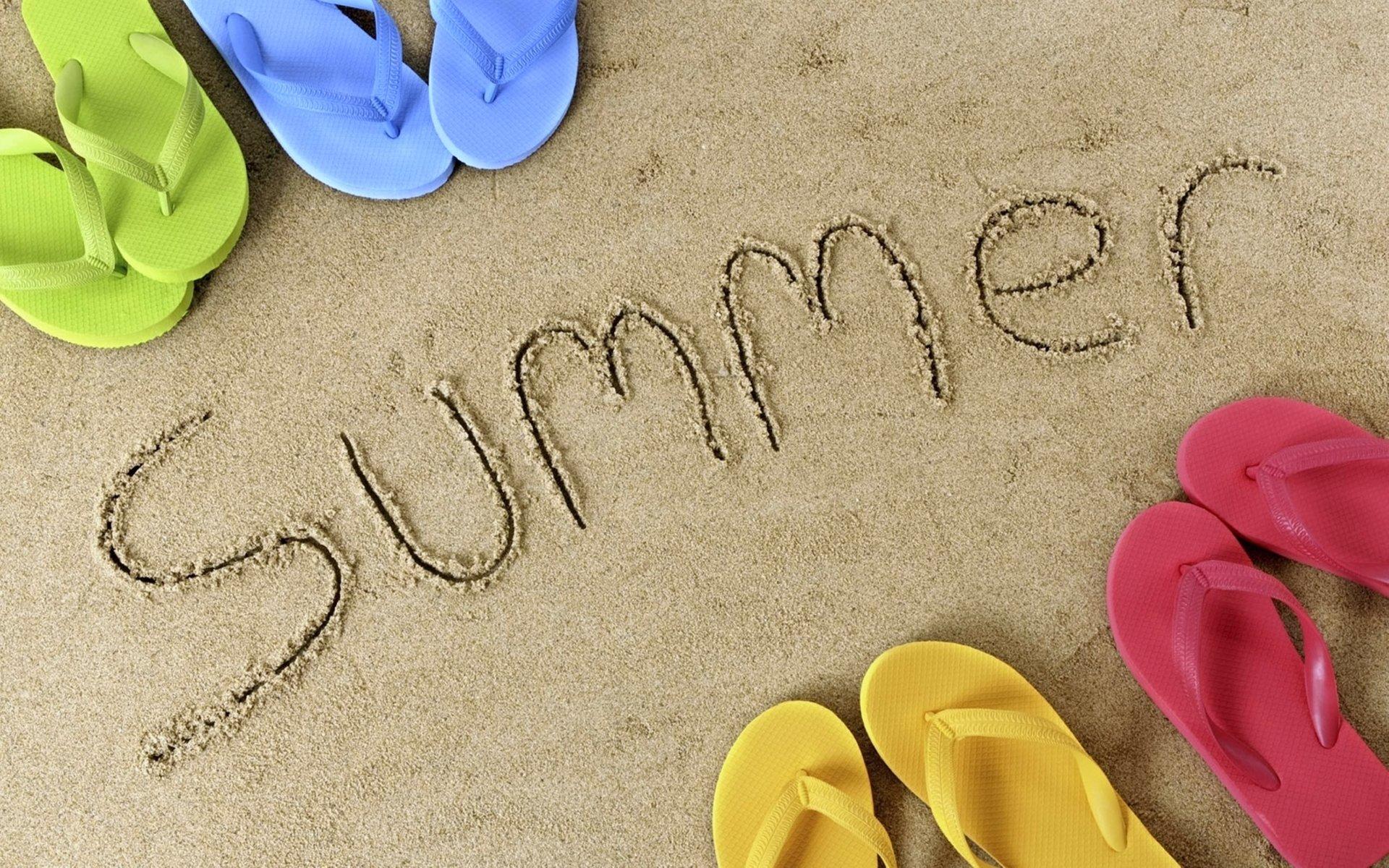 Artistic - Summer  Beach Sand Holiday Wallpaper