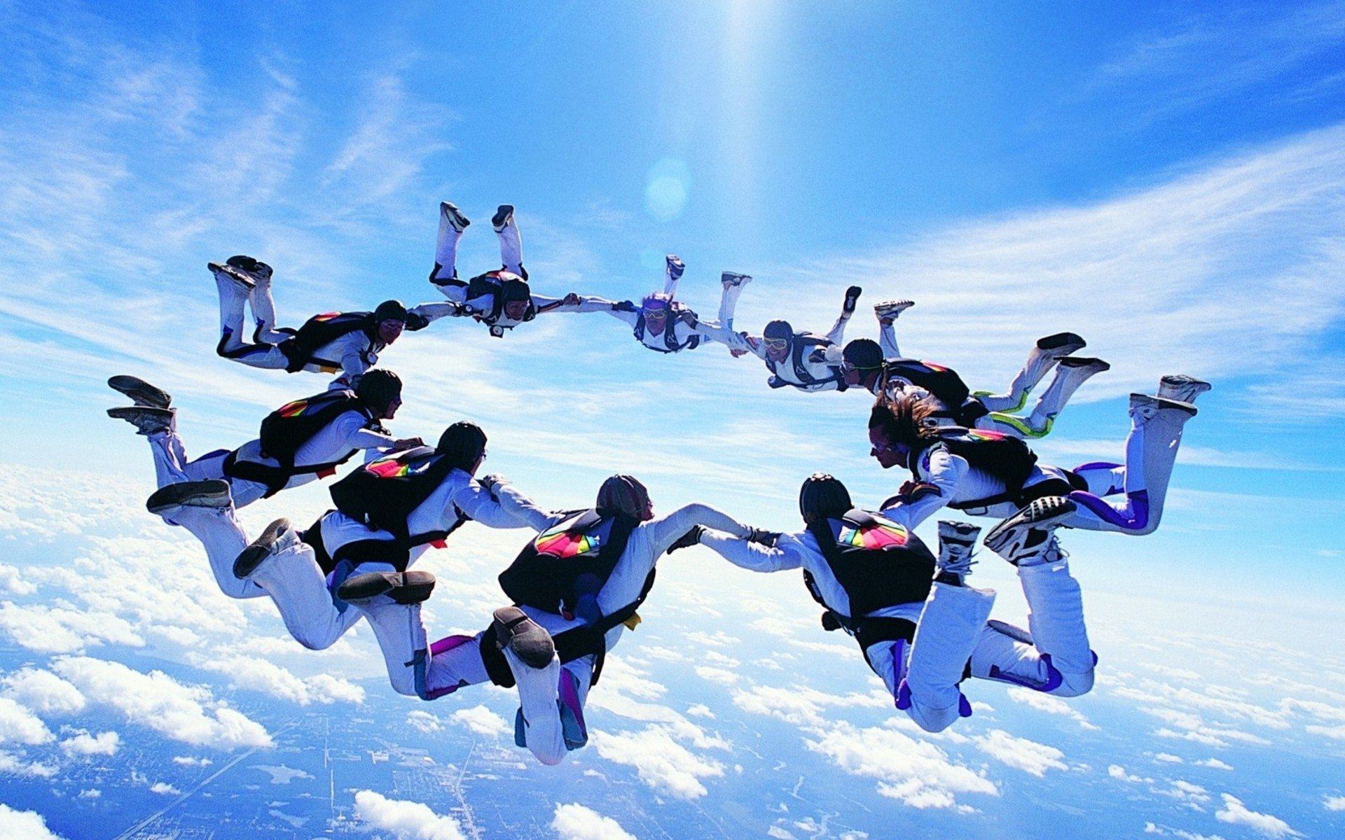 Sports - Skydiving  Wallpaper