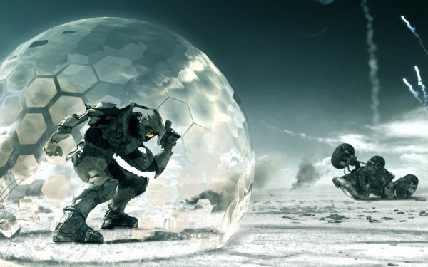 Video Game Halo 3 Halo Master Chief HD Wallpaper   Background Image