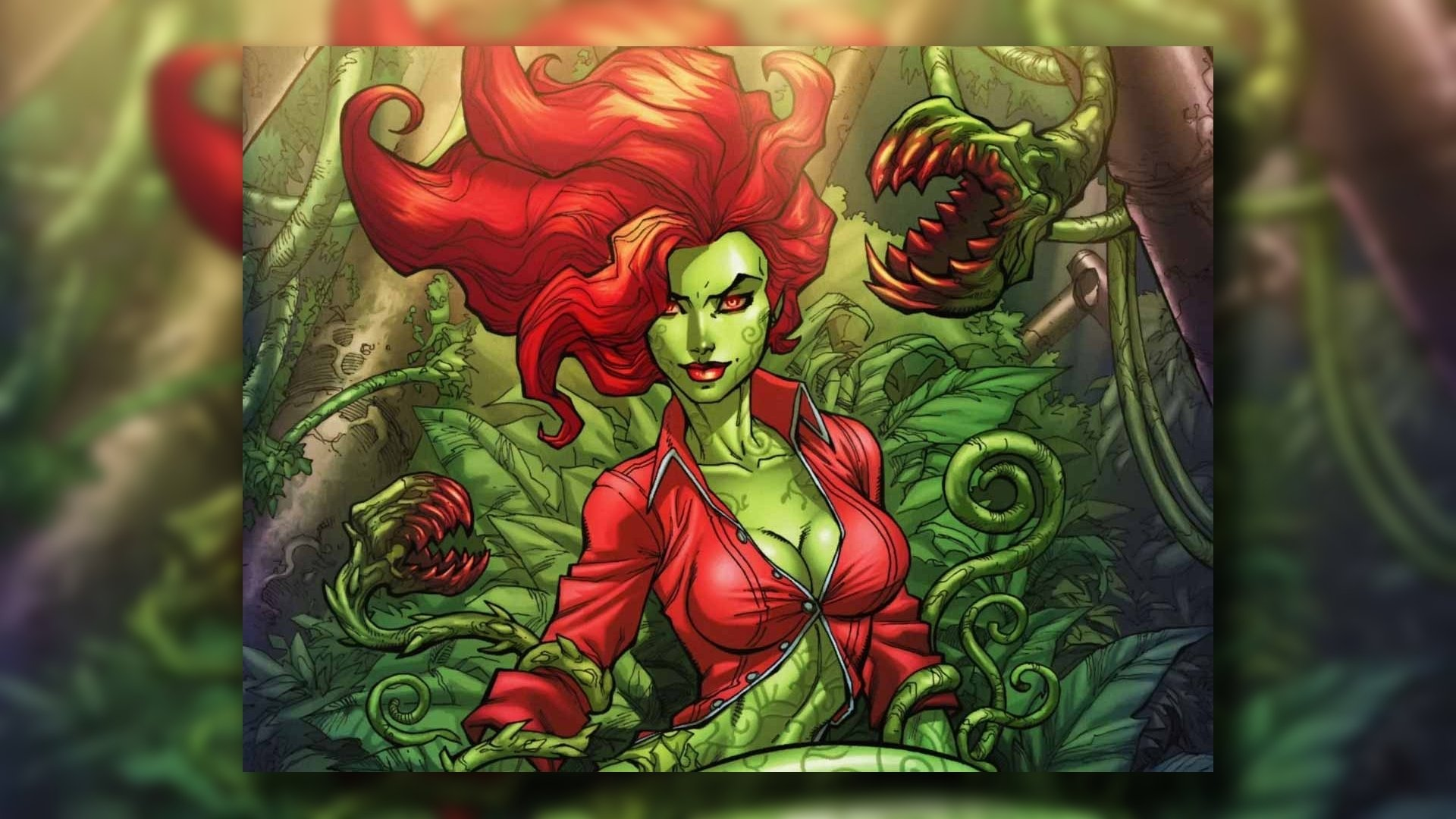 Poison Ivy HD Wallpaper | Background Image | 1920x1151