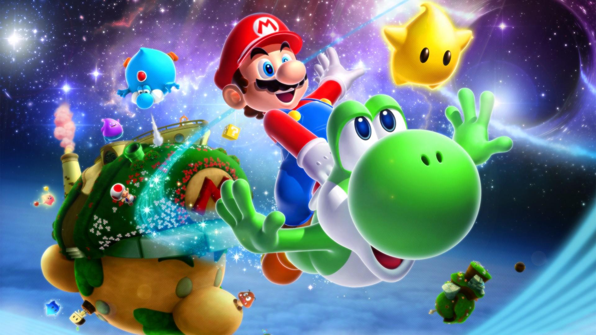 Super Mario Galaxy Wallpapers: 18 Super Mario Galaxy 2 HD Wallpapers