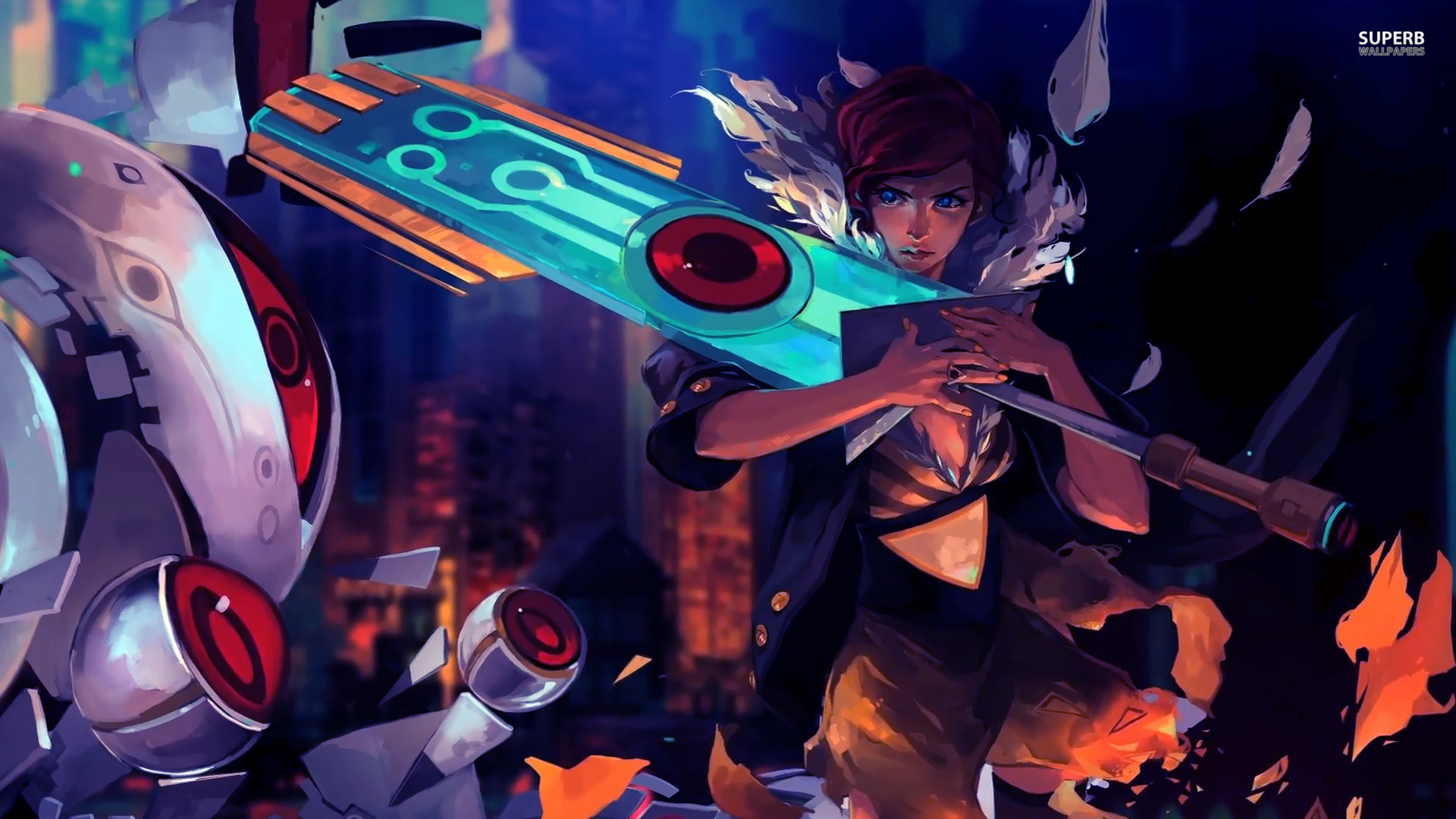Transistor full hd wallpaper and background image - Full hd anime wallpaper pack ...