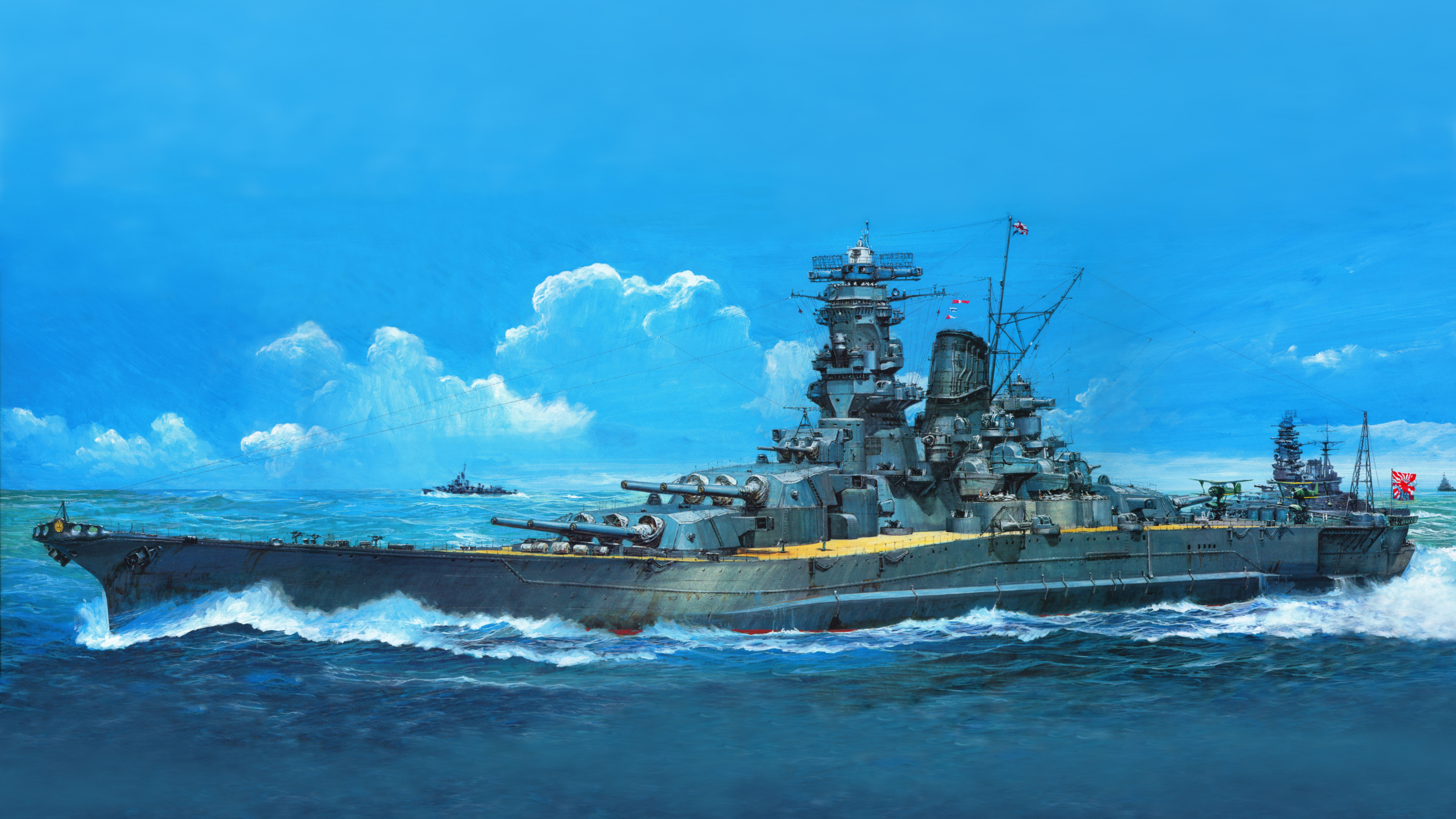 130 Battleship HD Wallpapers | Background Images - Wallpaper Abyss