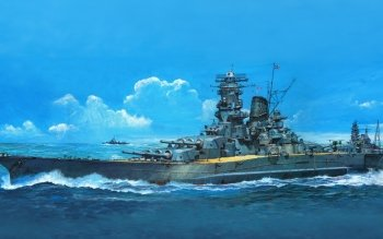 Military - Japanese Battleship Musashi Wallpapers and Backgrounds ID : 518394
