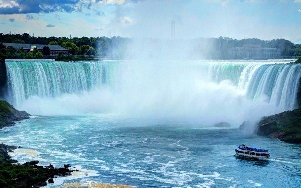 Tierra/Naturaleza Cataratas Del Niagara Cascadas Cascada Fondo de pantalla HD | Fondo de Escritorio