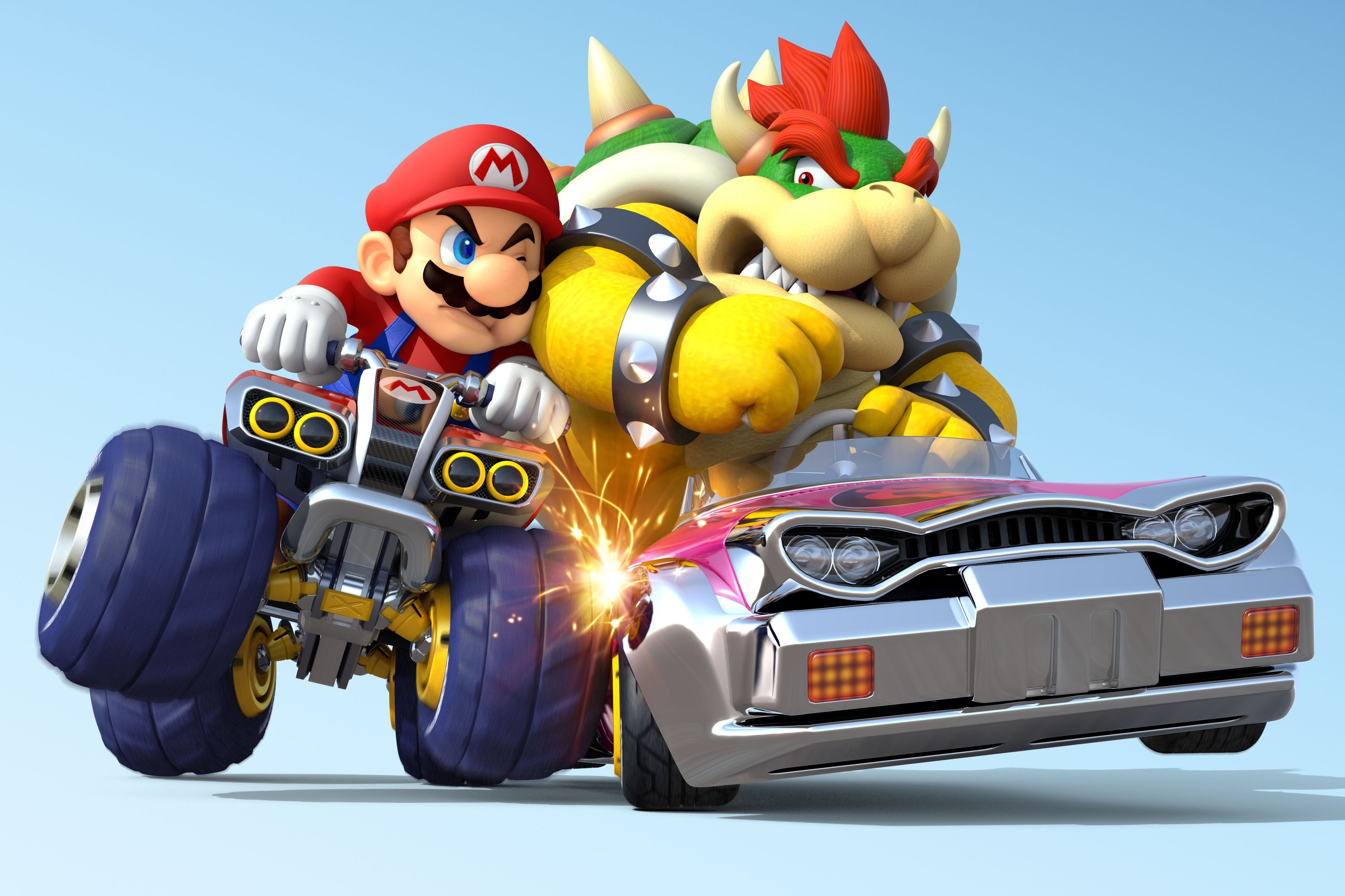 Mario Kart 8 Background: Mario Kart 8 4k Ultra HD Wallpaper